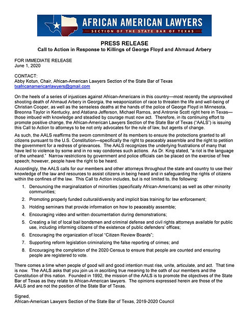 Press Release Call To Action in Response