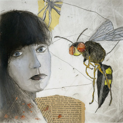 selfportrait with wasp _
