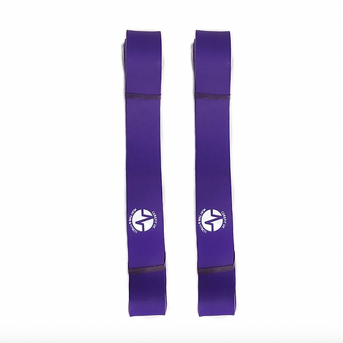 2 x LARGE RESISTANCE BAND - PURPLE
