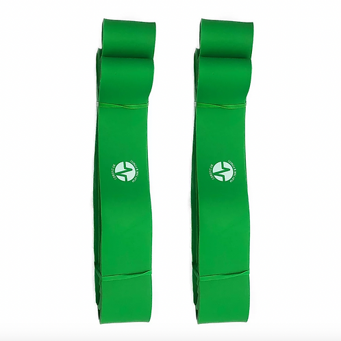 2 x X-LARGE RESISTANCE BAND - GREEN