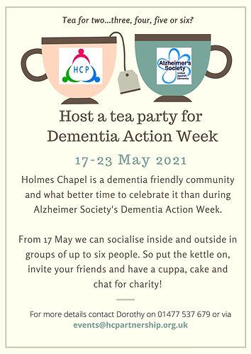 Pair of Teacups Tea Party Invitation (Po