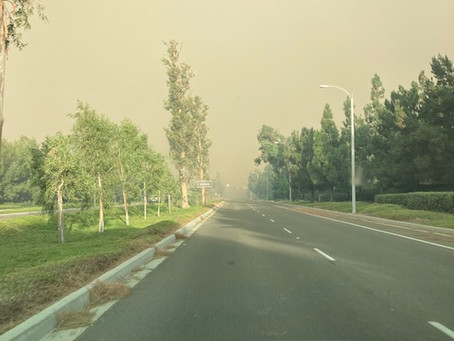 Wildfires and Pregnancy - Another reason for masks?
