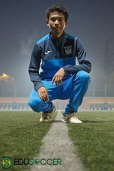 スペインサッカー長k