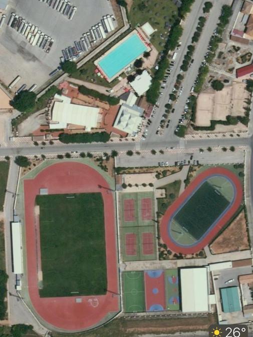 パラモスCFスタジアム バルセロナ