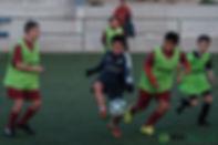 スペインサッカー留学中学生