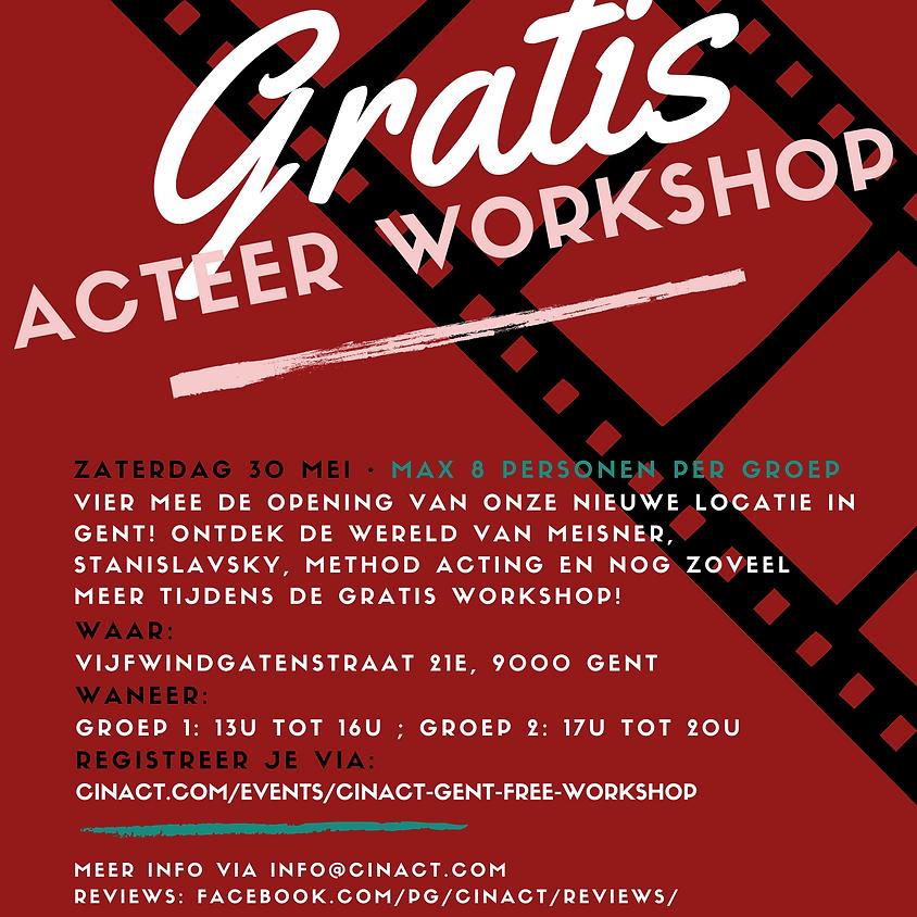 Cinact Gent Free Workshop