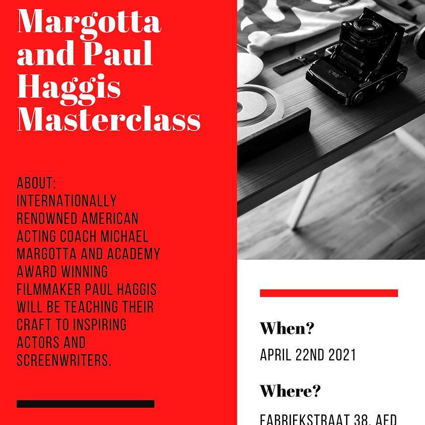 Michael Margotta and Paul Haggis Masterclass