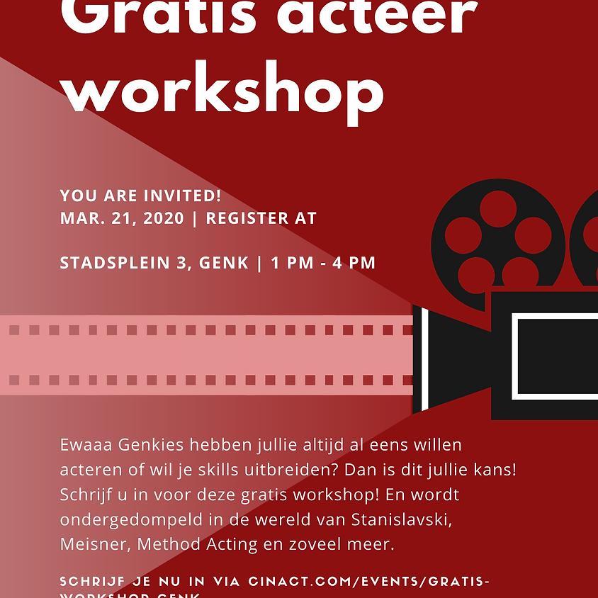 Gratis workshop Genk