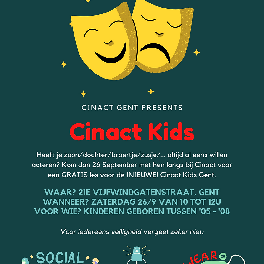 Gratis Les Cinact Kids Gent