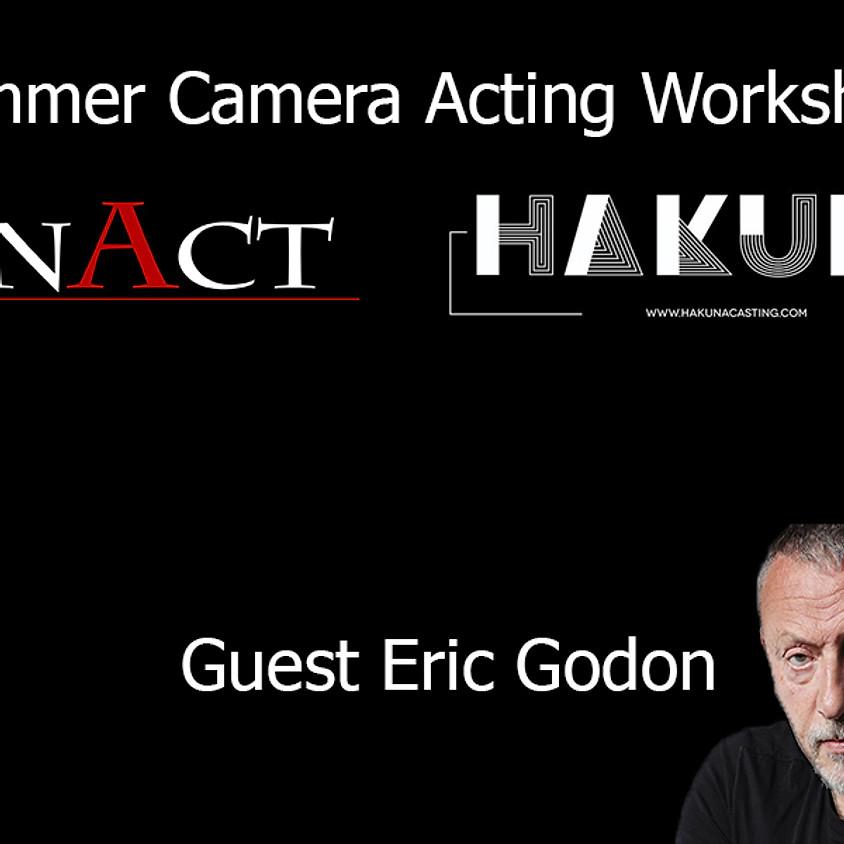 DUTCH-Masterclass Acteren voor de camera met Eric Godon als gast