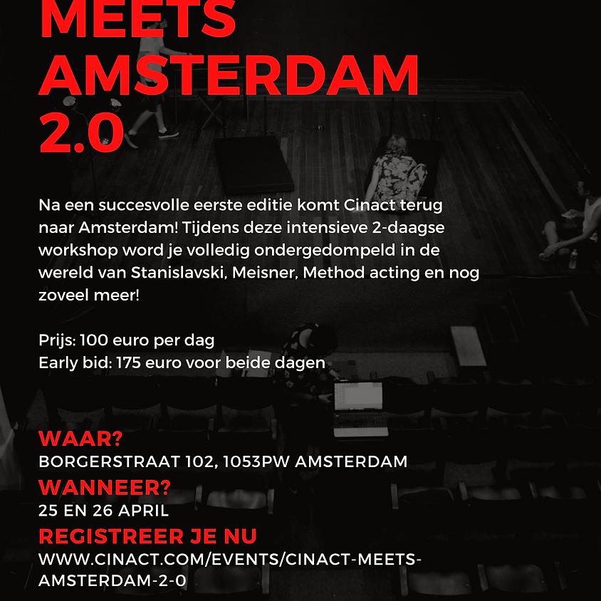 CINACT MEETS AMSTERDAM 2.0
