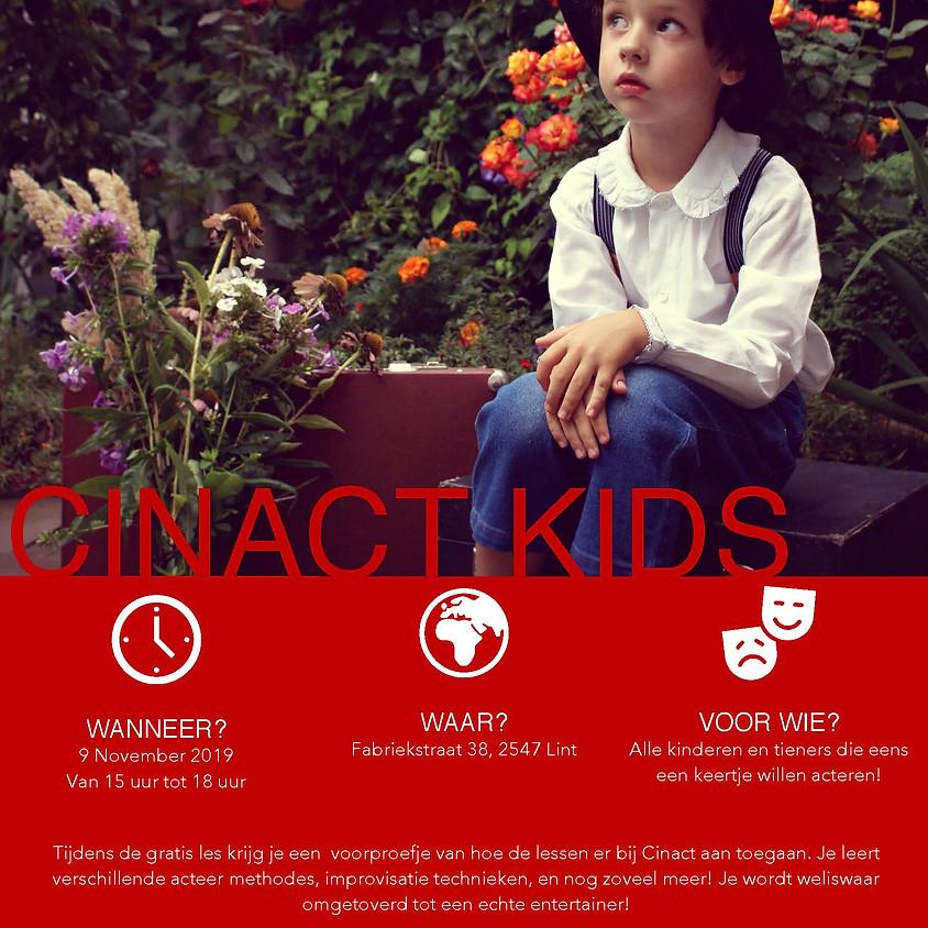 CINACT KIDS FREE ACTING WORKSHOP