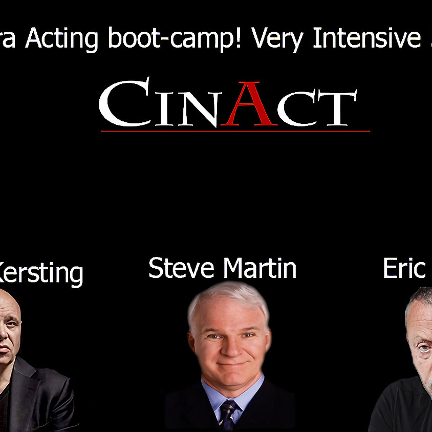 Camera Acting boot-camp! Very Intensive 5 days