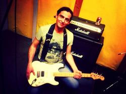 Back in Rehearsal Studio