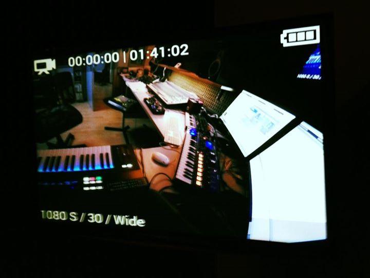 Live Cam Recording Studio Session