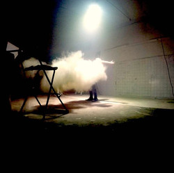 Obscured by a Cloud😀💥☁️☁️_About last night 🌌🎬 Pic from Backstage 🌠💥🎥 on set in Studio Quantic