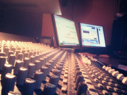 Mixing in snowy morning _)