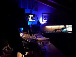 Studio in blue.