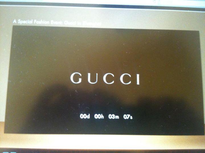@Gucci Fashion Show