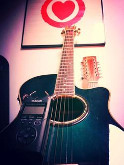 Recording Guitars everywhere