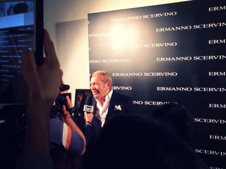 Backstage Ermanno Scervino