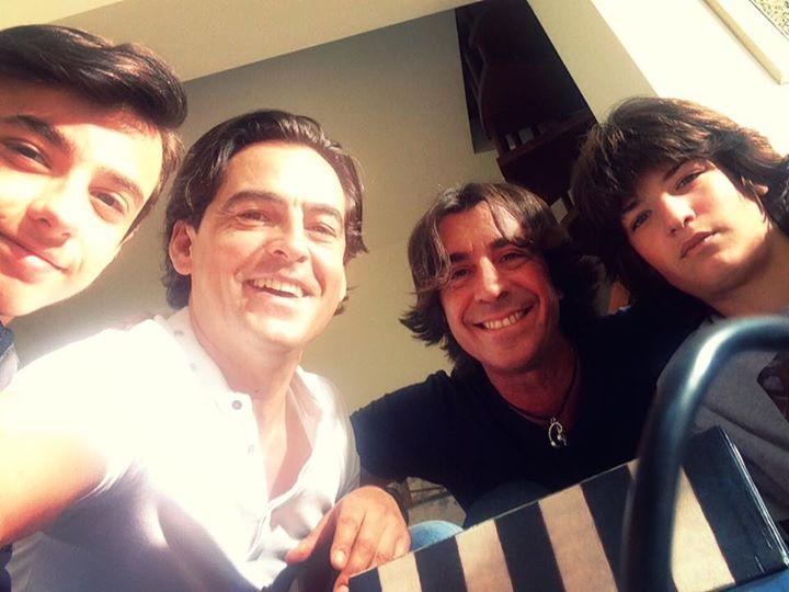 Sul set di On Air- Con Marco MAzzoli