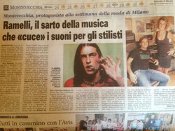 Reading this morning newspaper _))_Nice article by Matteo Scerri