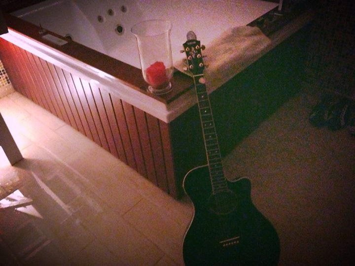 Jacuzzi and Guitar