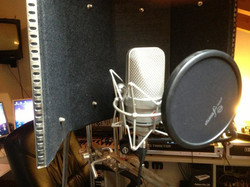 Ready 4 vocal session _Recording with Neumann.