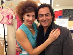 With Lynn Jamieson @ her show