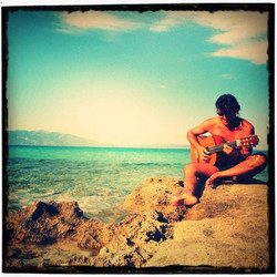 In Pianosa playing for the Sea