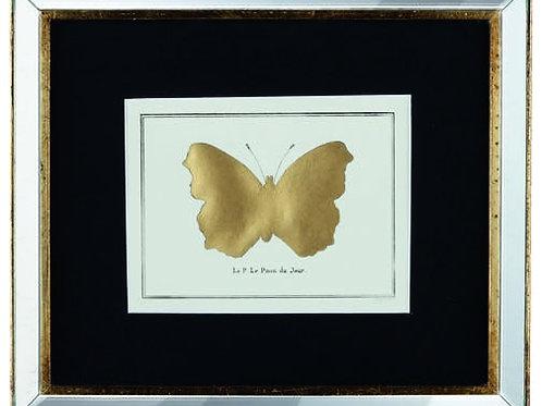 Quadro Papillon Oro