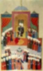 II. Mehmed'in Edirne'de cülus töreni(145