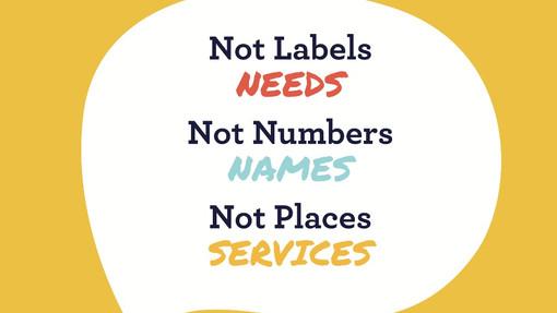 Not Labels - Needs