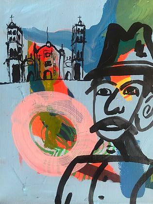 El Hombre Flaco y la Catedral | PRINT