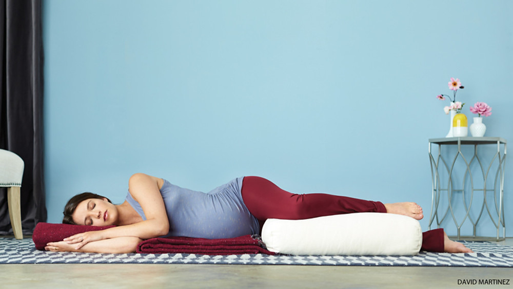 Shavasana for prenatal yoga
