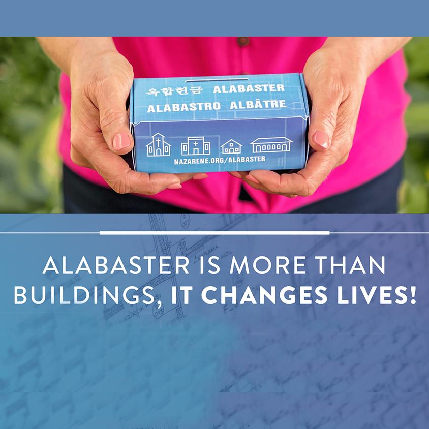 Alabaster Offering Sunday