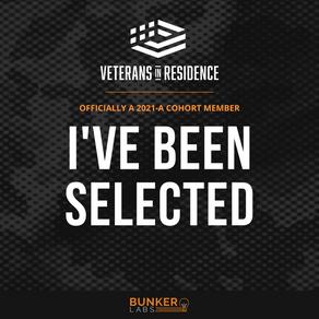 Veteran in Residence at Bunker Labs!