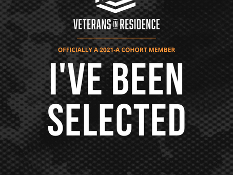 Veteran in Residence at Bunker Labs!