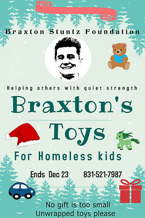 BRAXTON TOY DRIVE  WINTER POSTER Templat