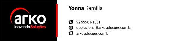 Arko - Assinatura e-mail - Yonna Kamila.