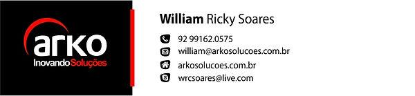 Arko - Assinatura e-mail - William Ricky