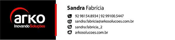 Arko - Assinatura e-mail - Sandra Fabric
