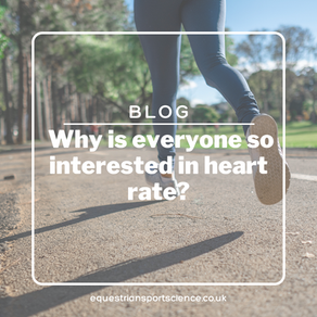 Heart Rate Part 1 - Why is everyone so interested in Heart Rate?