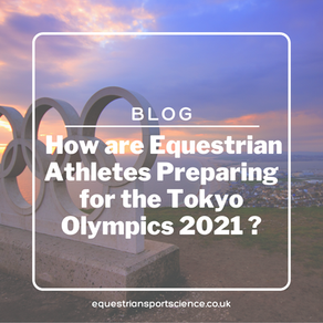 How are Equestrian athletes preparing for the Tokyo Olympics 2021?