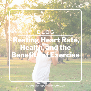 Heart Rate Part 2 - Resting Heart Rate, Health, and the Benefits of Exercise