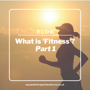 What is 'fitness' - Part 1
