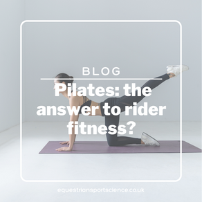 Pilates: the answer to rider fitness?