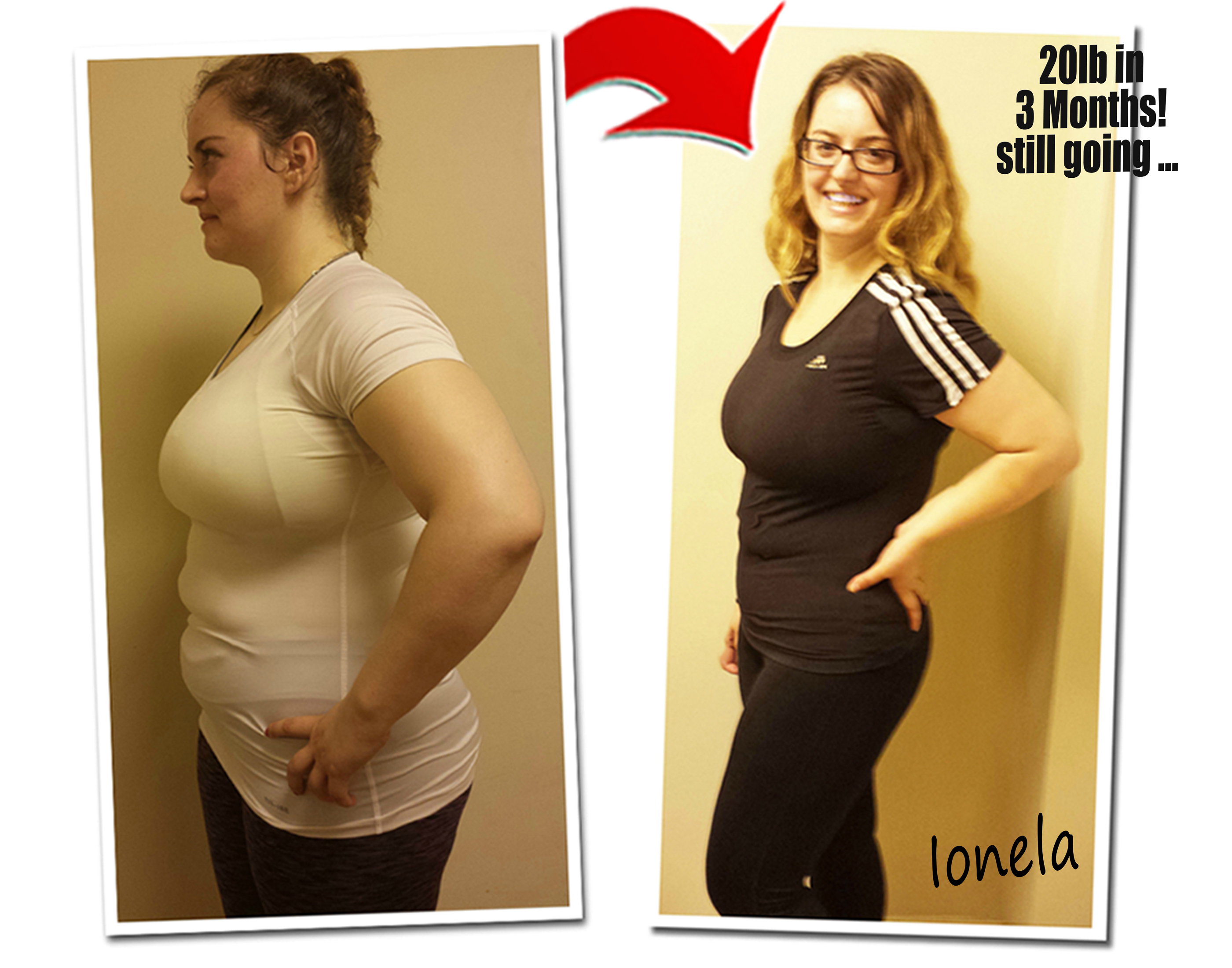 3 ways she lost 20lbs