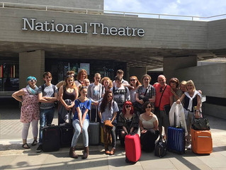 KYT perform in London's National Theatre